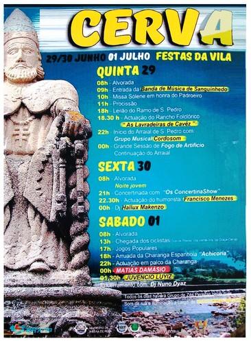 Vila de Cerva - Festa de São Pedro 2017