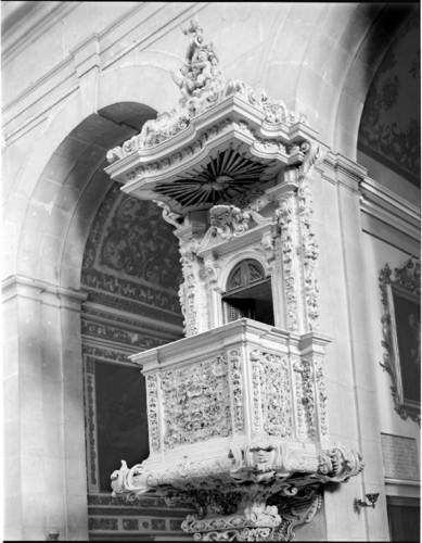 Púlpito, Igrejá de N. Sra. das Mercês (R.C. Smith, 1962-64)