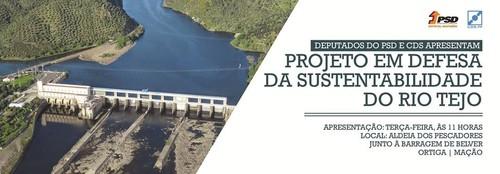 projeto em defesa das sustentabilidade do rio tejo