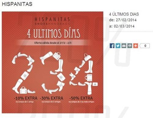 Até 50% extra | THE STYLE OUTLETS | Hispanitas até 2 de março