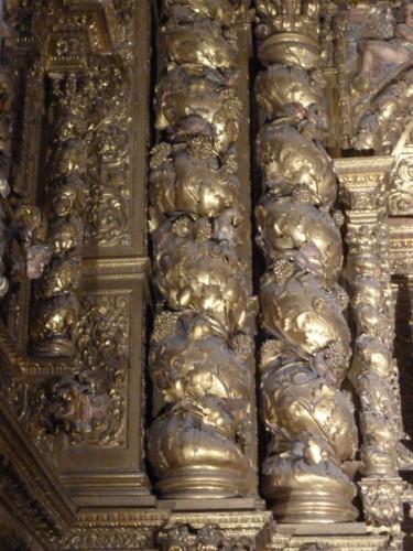 Sé Nova capela de S. Tomás de Vila Nova colunas.