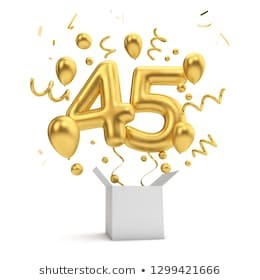 happy-45th-birthday-gold-surprise-260nw-1299421666