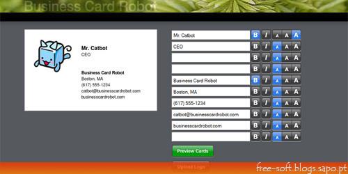 criar cartão de visita ou cartões de visita profissionais