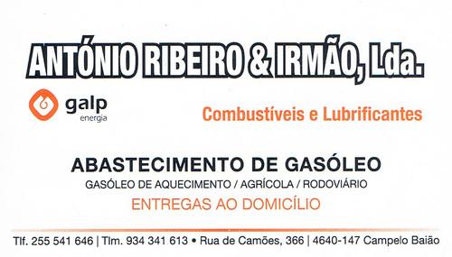 António Ribeiro e Irmão_Combustíveis e Lubrific