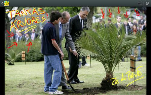 cavaco silva, dia da árvore,  presidente da república