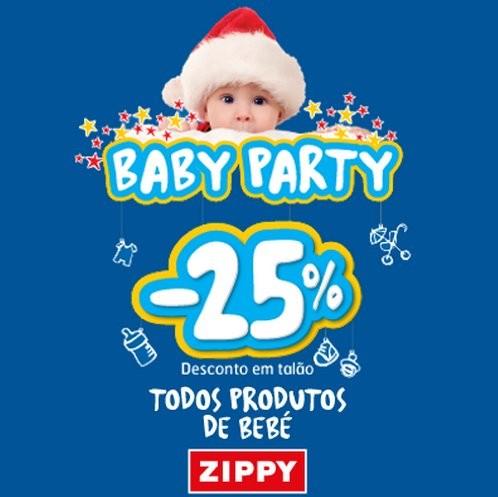 25% desconto | ZIPPY | de 5 a 8 dezembro