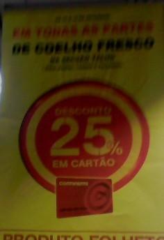 25% em Coelho - Todas as Partes