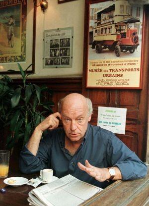 eduardo galeano no café brasilero em montevideo,