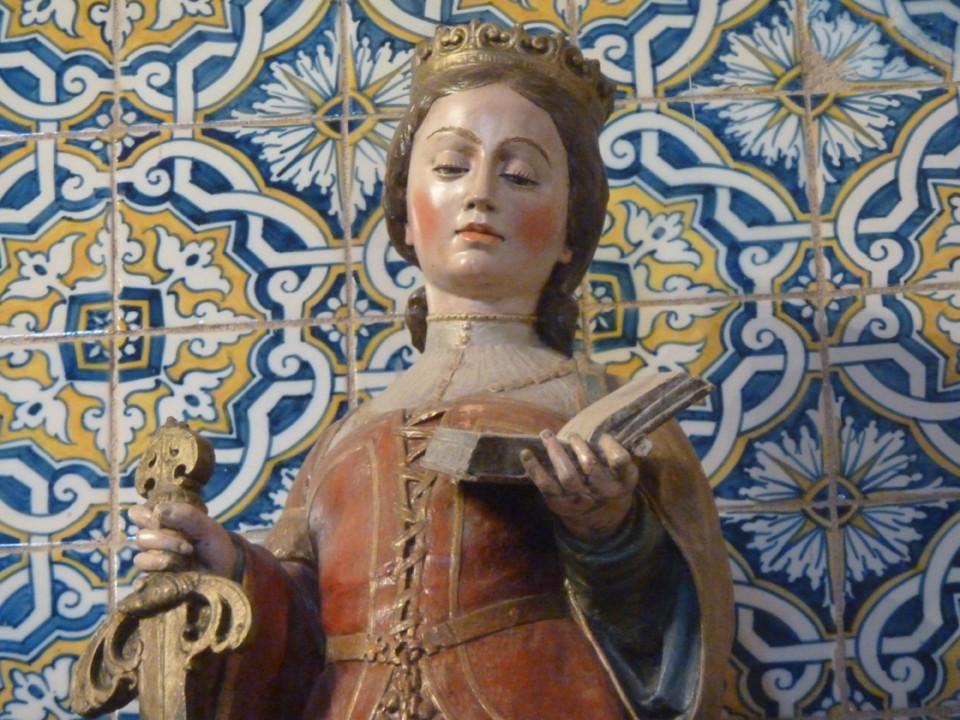 S. Silvestre, obra de João de Ruão.JPG