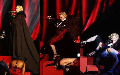 Madonna-fell-off-the-stage-during-her-performance-