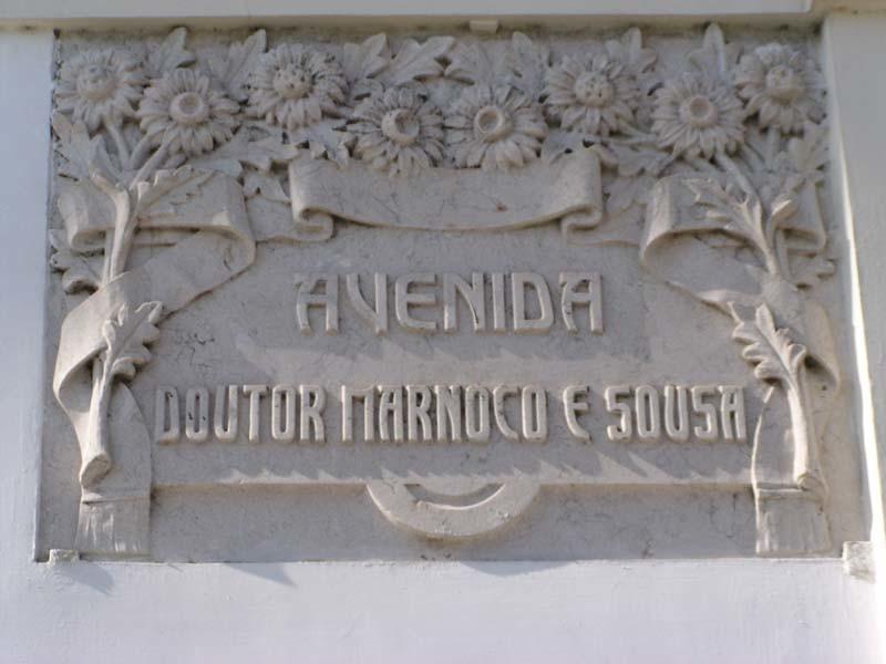 Av. Marnoco e Sousa, placa toponímica.JPG