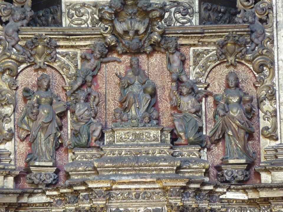 Igreja de Santa Justa, altar-mor pormenor.JPG