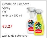 Creme de Limpeza Spray CIF 2x750ml