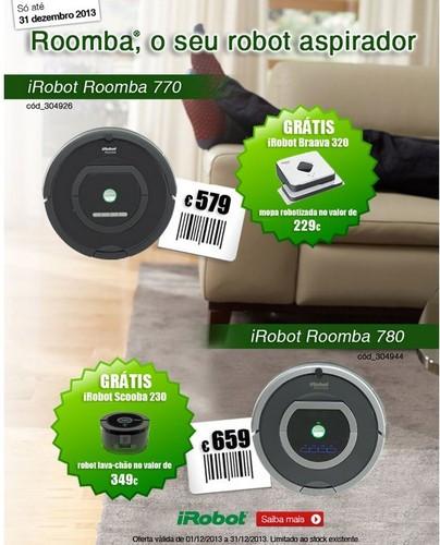 Promoções   STAPLES   Roomba
