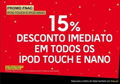 15% de desconto imediato | FNAC | de 17 a 24 dezembro