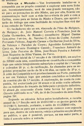 Visconde do Peso de Melgaço e Miguel Dantas e Nar