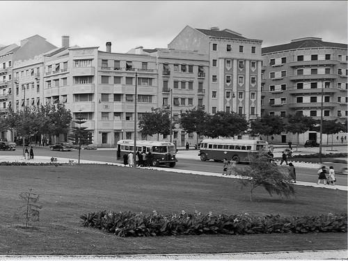 Alameda de Dom Afonso Henriques, Lisboa (M. Novais, c. 1950)