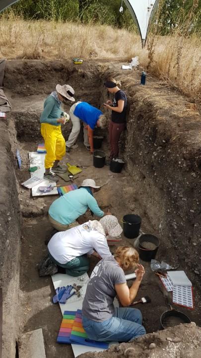 Escavações Arqueológicas no Cabeço da Amoreira