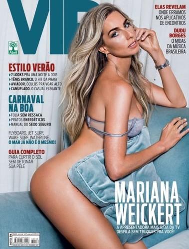 Mariana Weickert capa
