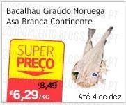 Super Preço   CONTINENTE   Bacalhau