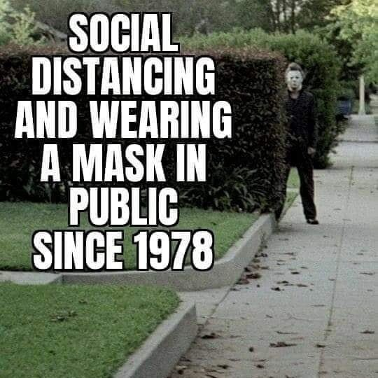 michael myers social distancing