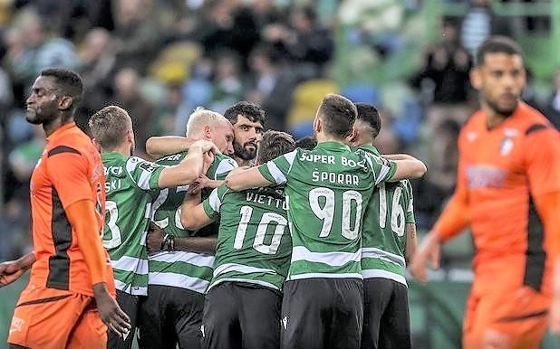Sporting Portimonense 2019-20 2-1 1ª Liga 20ª jo