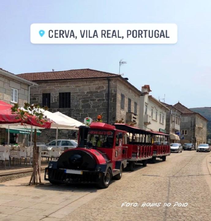 Vila de Cerva - Comboio Turístico - Águias do Póio.