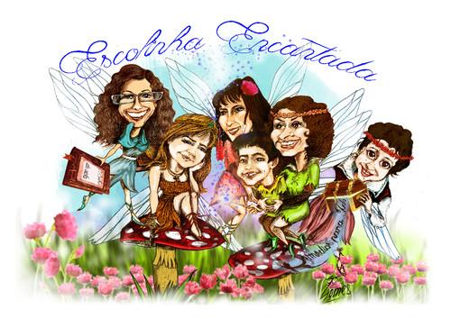 Escolinha Encantada-caricaturas2.jpg