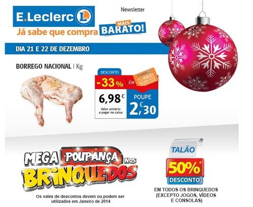Promoção | E-LECLERC | dias 20 e 21 dezembro