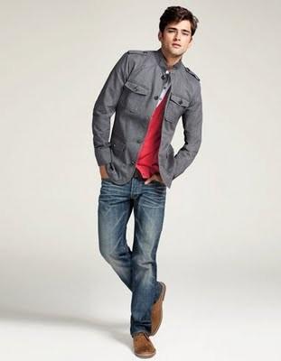 Sean O'pry Catálogo H&M Fall 2011