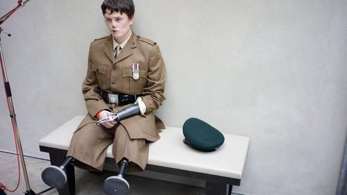 Brian Adams Rifleman Craig Wood, injured in Afghan