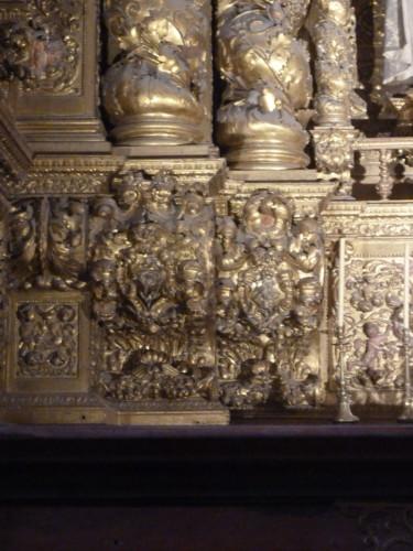 Sé Nova, capela de S. Tomás de Vila Nova colunas