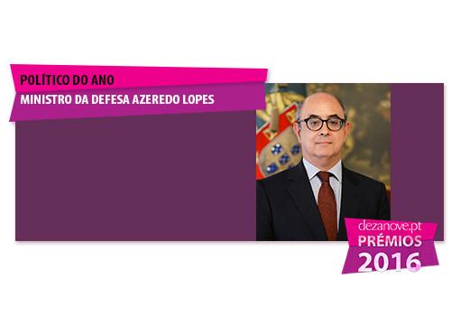 Político do Ano - Ministro da Defesa Azeredo Lope