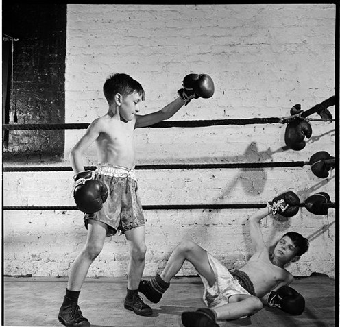 POLICE ATHLETIC LEAGUE BOXING LIMITED EDITION PHOT