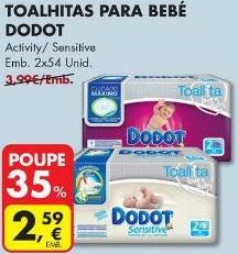 Toalhitas Dodod 35% Desconto Pingo Doce