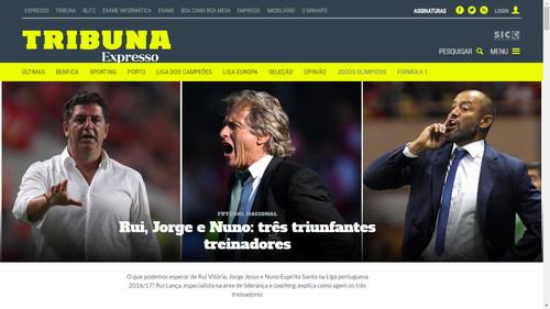 Tribuna Expresso junta jornal e SIC Notícias - sicblogue 3761b2cac9748