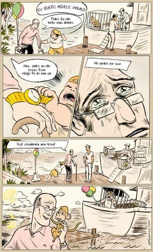 Cartoons - A troca