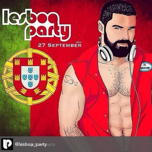 DJ Kingstone Paris na Lesboa Party [8º aniversário]
