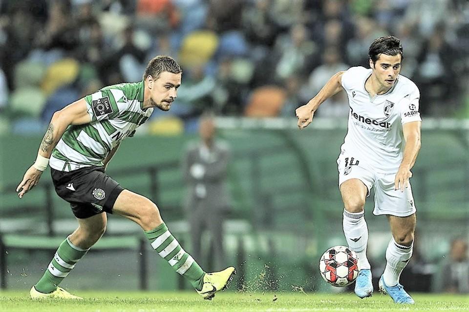 Sporting V. Guimarães 1ª Liga 2019-20 3-1 8ª jo