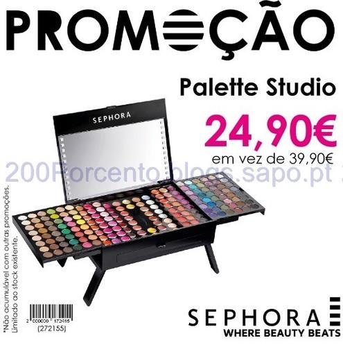 Promoção nas Lojas Sephora