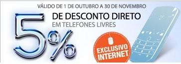 5% em Telefones Livres   EL CORTE INGLÉS  