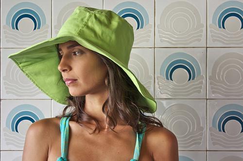 Chapéu verde