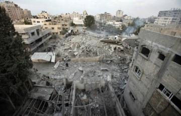 Edifícios do Hamas destruídos, Fazixa de gaza
