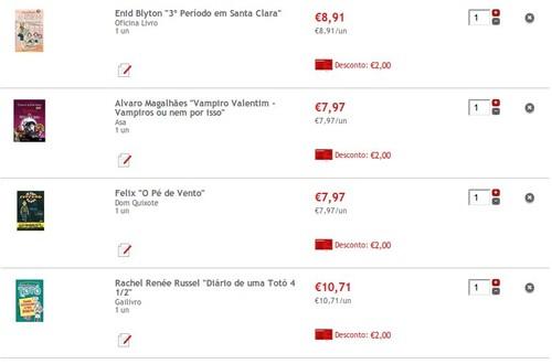 Livros 2€ em cartão | CONTINENTE | , existem vários , de vários editores