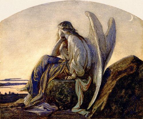 Alexandre Cabanel, The Evening Angel, 1848_tumblr_