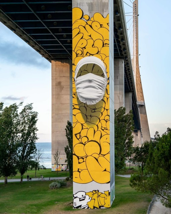 """2 """"Shirt Mask SOW03"""" by Nuno Viegas in Lisbon,"""