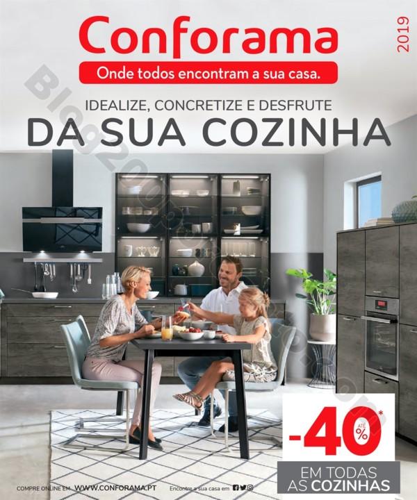 Antevisão Folheto CONFORAMA Cozinhas promoções