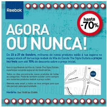 Promoções   THE STYLE OUTLETS   Vila do Conde