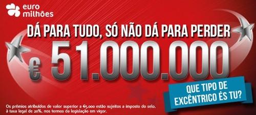 Passatempo Ganha até 1 Milhão de Euros | 200% |