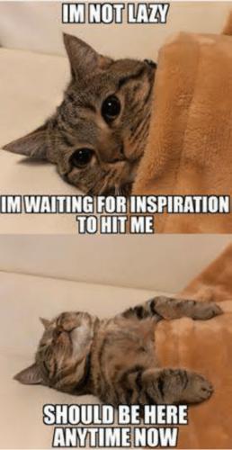 im-not-lazy-im-waiting-forinspiration-to-hit-me-sh